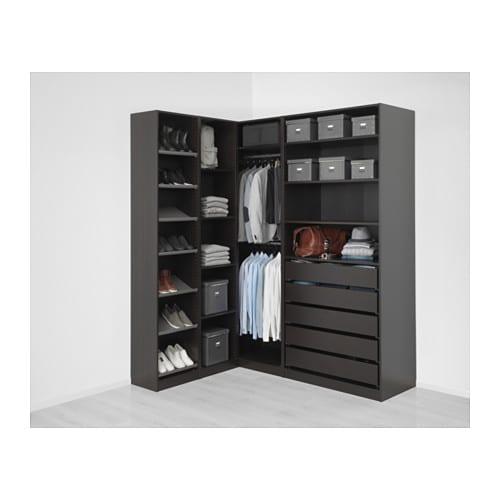 pax corner wardrobe 63 1 8 73 7 8x93 1 8 ikea. Black Bedroom Furniture Sets. Home Design Ideas
