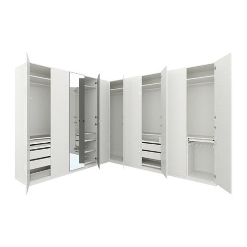 Pax corner wardrobe 310 310x236 cm ikea for Ikea angolare pax
