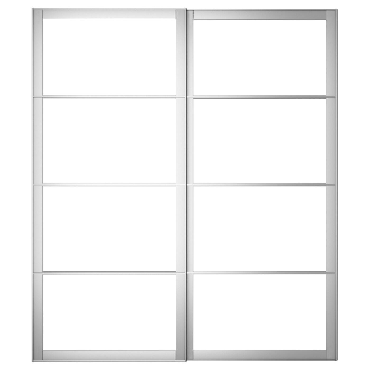 Pax Pair Of Sliding Door Frames Rail