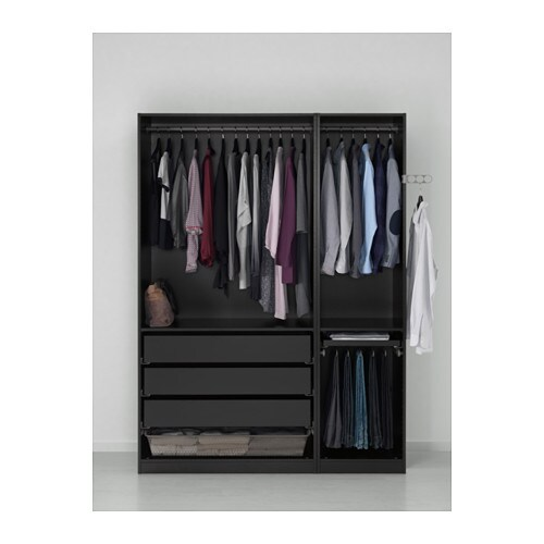 PAX Wardrobe - soft closing hinge, 150x60x201 cm - IKEA