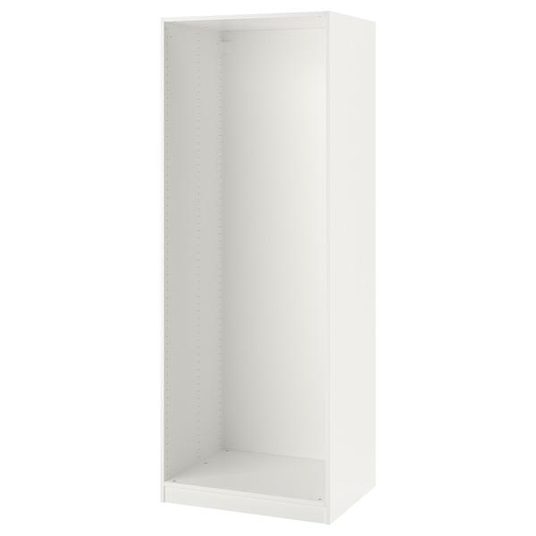 "PAX Wardrobe frame, white, 29 1/2x22 7/8x79 1/8 """