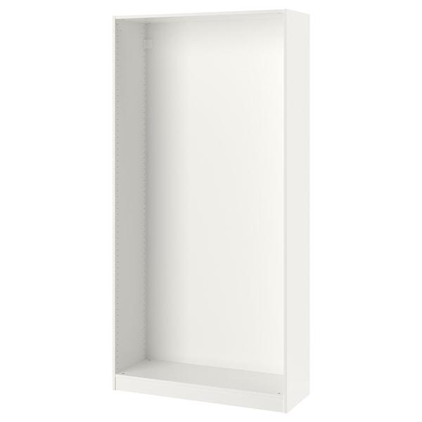 "PAX Wardrobe frame, white, 39 3/8x13 3/4x79 1/8 """