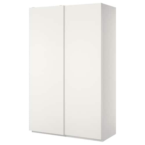"""PAX wardrobe white/Hasvik white 59 """" 26 """" 93 1/8 """""""