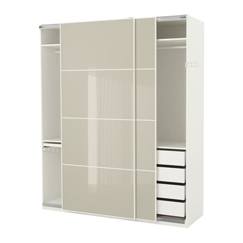 Pax wardrobe soft closing damper ikea for Armoire penderie 4 portes
