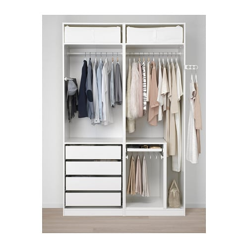 """PAX Wardrobe 59x22 7/8x93 1/8 """" IKEA"""