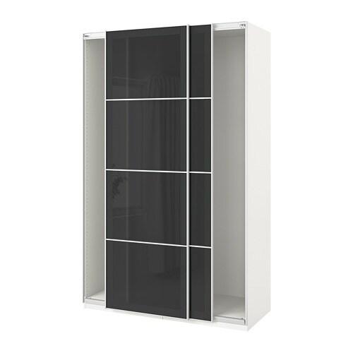 Ikea Wardrobe Doors: PAX Wardrobe With Sliding Doors