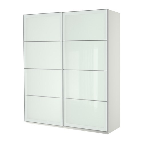 Ikea Tall Cabinet Glass Doors ~ PAX Wardrobe with sliding doors IKEA 10 year Limited Warranty Read