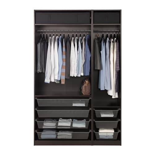 pax wardrobe 59x22 7 8x93 1 8 ikea. Black Bedroom Furniture Sets. Home Design Ideas