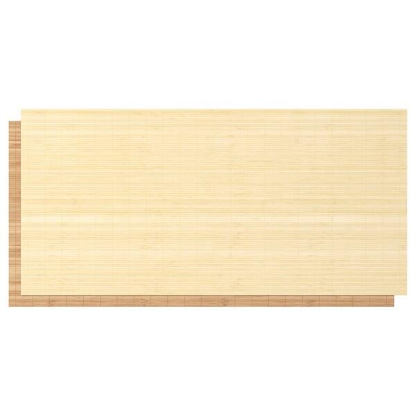 "PAX wardrobe white/Fjellhamar dark bamboo 78 3/4 "" 26 "" 79 1/4 """