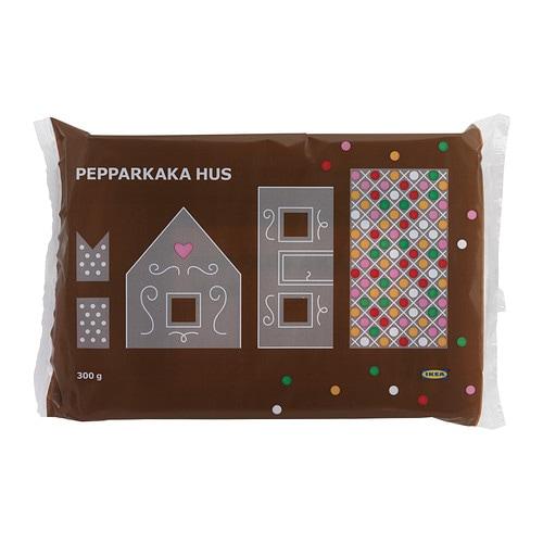 pepparkaka hus gingerbread house ikea. Black Bedroom Furniture Sets. Home Design Ideas