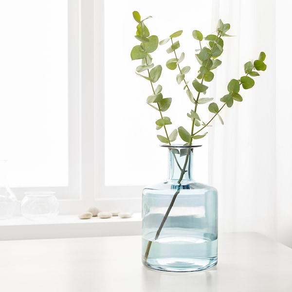 """PEPPARKORN Vase, blue, 11 """""""