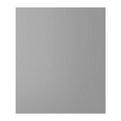 PERFEKT LIDINGÖ Cover panel for high cabinet , gray Width: 24 5/8