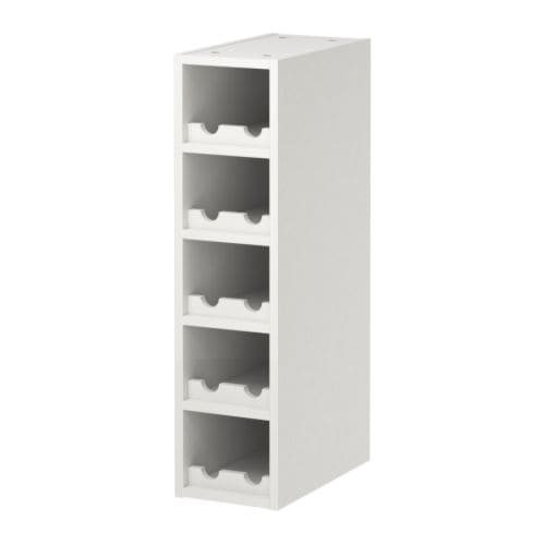 ikea perfekt wine shelf rack white 10 bottle ebay. Black Bedroom Furniture Sets. Home Design Ideas