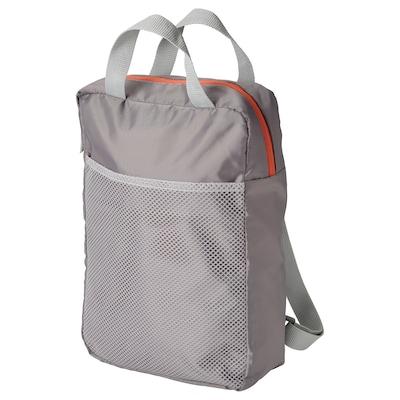 "PIVRING Backpack, light gray, 9 ½x3 ¼x13 ½ ""/2 gallon"