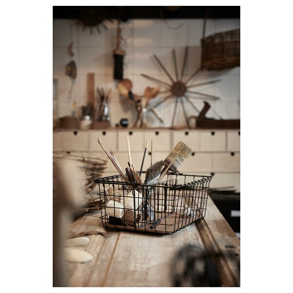 IKEA PLEJA Wire basket with handle