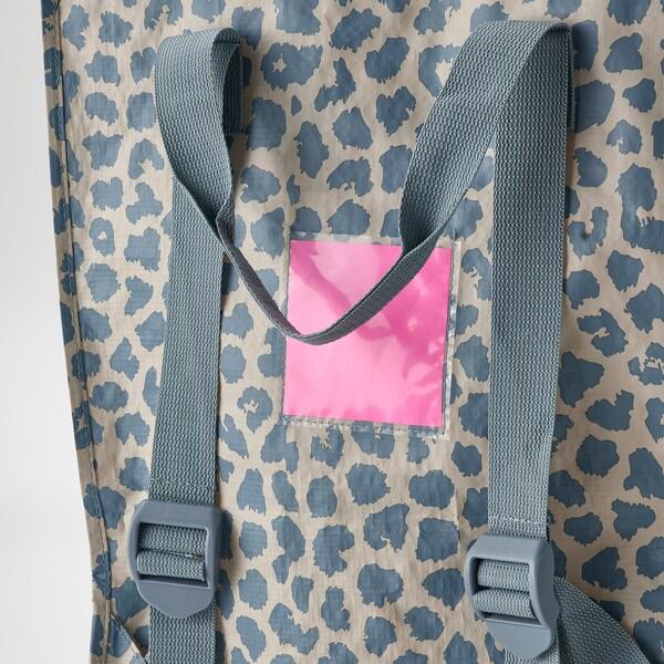 PLUGGHÄST Bag, patterned blue, 2435 oz