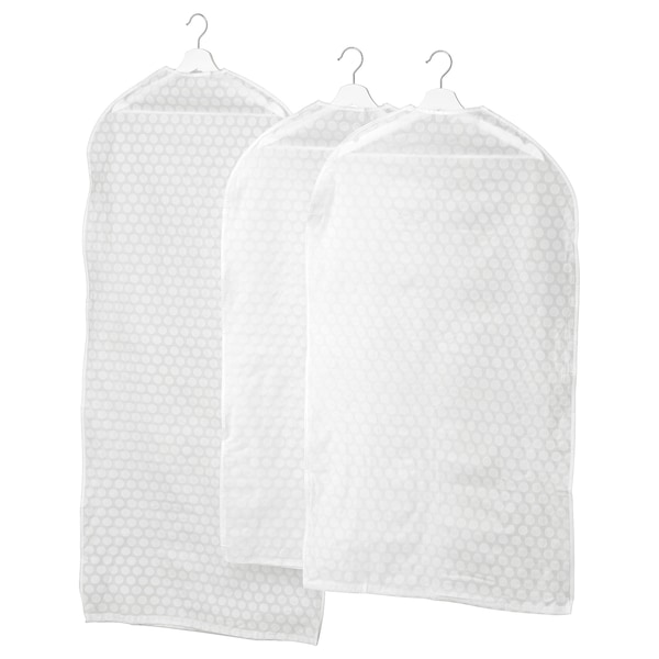 IKEA PLURING Clothes cover, set of 3