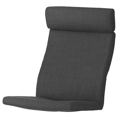 POÄNG chair cushion Hillared anthracite