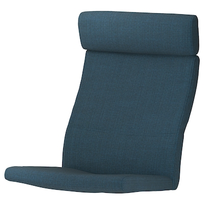 POÄNG Chair cushion, Hillared dark blue