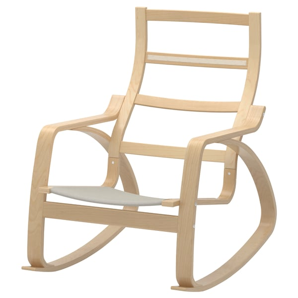 Peachy Rocking Chair Frame Poang Birch Veneer Gmtry Best Dining Table And Chair Ideas Images Gmtryco