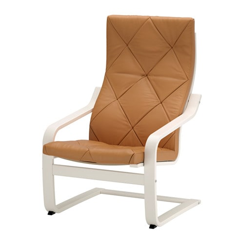 Ikea Frisiertisch Schublade ~ POÄNG Chair IKEA Highly durable full grain leather which is soft and