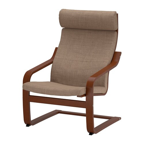 po ng chair isunda brown ikea. Black Bedroom Furniture Sets. Home Design Ideas