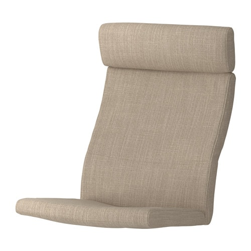 po ng chair cushion hillared beige ikea. Black Bedroom Furniture Sets. Home Design Ideas