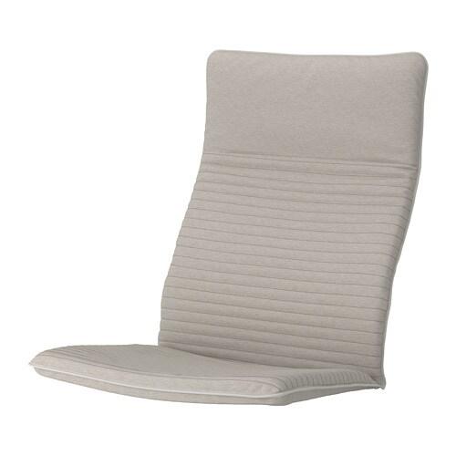 po ng chair cushion knisa light beige ikea. Black Bedroom Furniture Sets. Home Design Ideas