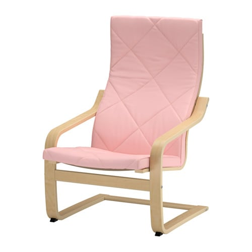 po ng chair cushion edum pink ikea. Black Bedroom Furniture Sets. Home Design Ideas