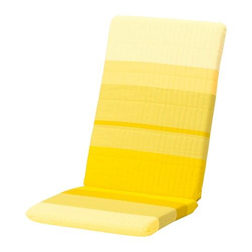 ikea poang chair cushion POÄNG Chair cushion   Lyskraft yellow   IKEA ikea poang chair cushion