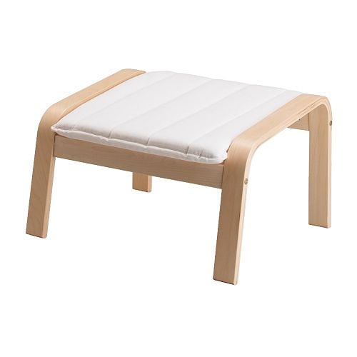 Ikea Patrull Türschutzgitter ~ POÄNG Footstool IKEA The frame is made of layer glued bent birch