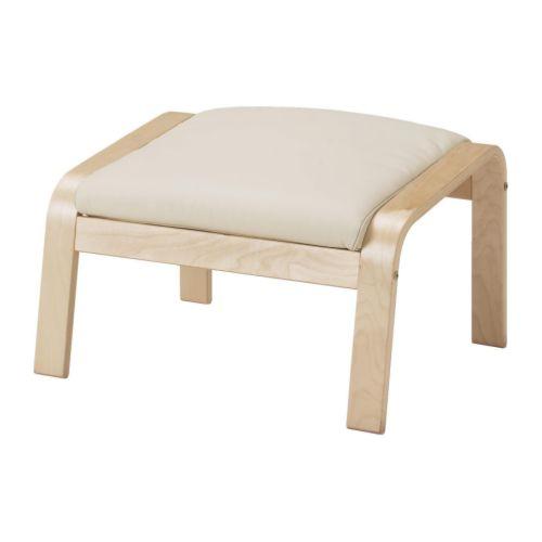 Po 196 Ng Ottoman Cushion Glose Off White Ikea