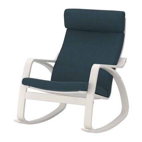 POÄNG Rocking chair IKEA A variety of seat cushion designs makes it easy to change the look of your POÄNG chair and your living room.
