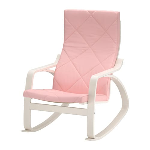 po ng rocking chair edum pink ikea. Black Bedroom Furniture Sets. Home Design Ideas