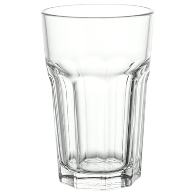 POKAL Glass, clear glass, 12 oz