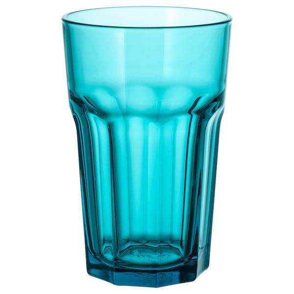 POKAL Glass, turquoise, 12 oz