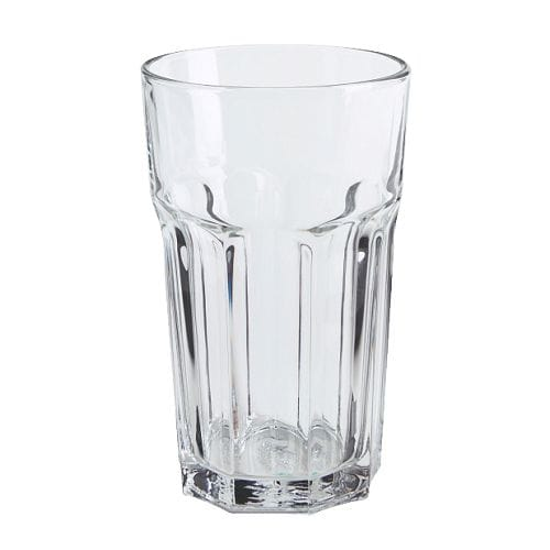 "POKAL Glass, clear glass Height: 6 "" Volume: 12 oz  Height: 14 cm Volume: 35 cl"