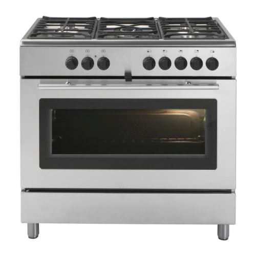 PRAKTFULL PRO A51 S Gas range with convection oven IKEA 5-year Limited Warranty. Read about the terms in the Limited Warranty brochure.
