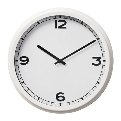 PUGG Wall clock, white