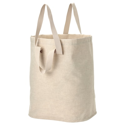 PURRPINGLA Laundry bag, beige, 26 gallon