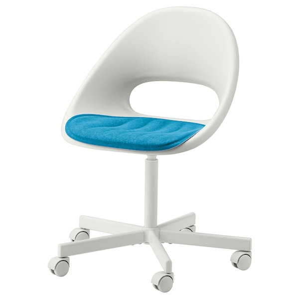 "PYNTEN Seat pad, blue, 16 ¼x17 """