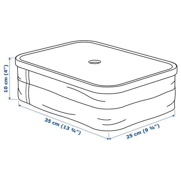 """RABBLA Box with compartments, 9 ¾x13 ¾x4 """""""