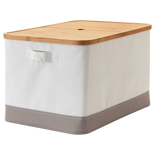"RABBLA box with lid 13 ¾ "" 19 ¾ "" 11 ¾ """