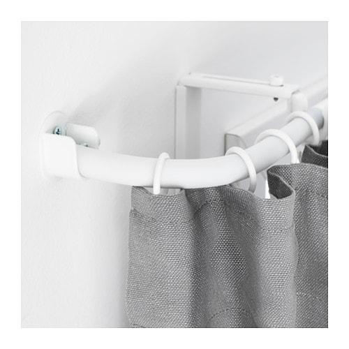 rÄcka curtain rod corner connector - black - ikea