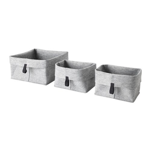 RAGGISAR Basket, Set Of 3