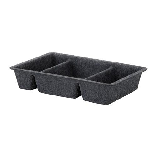 RAGGISAR Tray, dark gray
