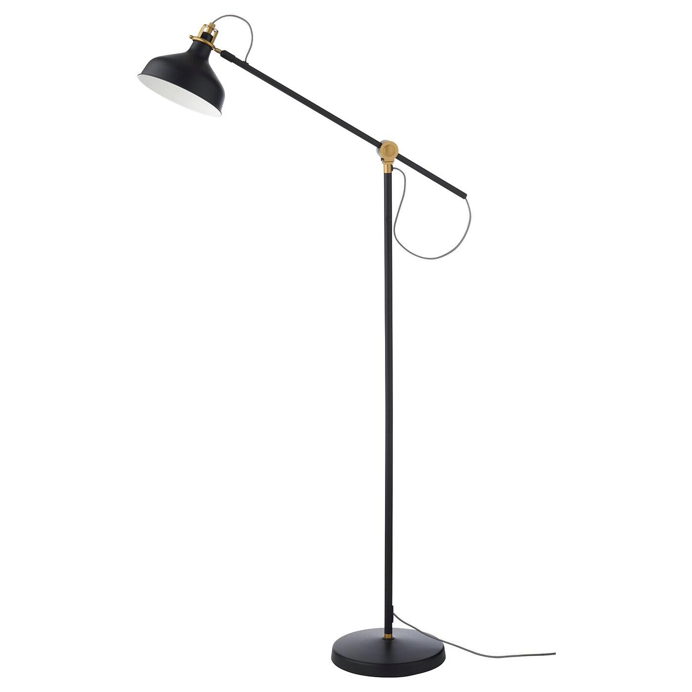 RANARP Floor/reading Lamp With LED Bulb, Black - IKEA