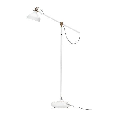 Ranarp floor reading lamp with led bulb ikea for Led bulb for floor lamp