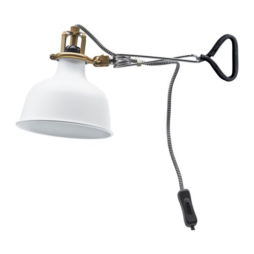 RANARP Wall clamp spotlight IKEA