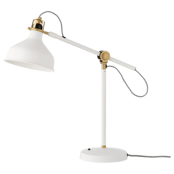 "RANARP work lamp with LED bulb off-white 17 "" 7 "" 5 ' 3 """